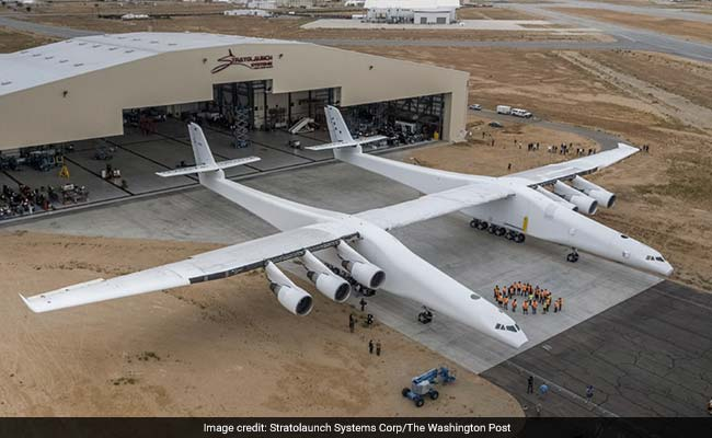 Why Is Paul Allen Building The World's Largest Airplane? Perhaps To Launch  A Space Shuttle Called 'Black Ice.'