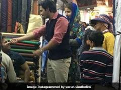<i>Sui Dhaaga</i>: Anushka Sharma, Varun Dhawan's Current Stop - Delhi