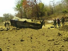 9 CRPF Men Killed As Maoists Blow Up Armoured Vehicle In Chhattisgarh