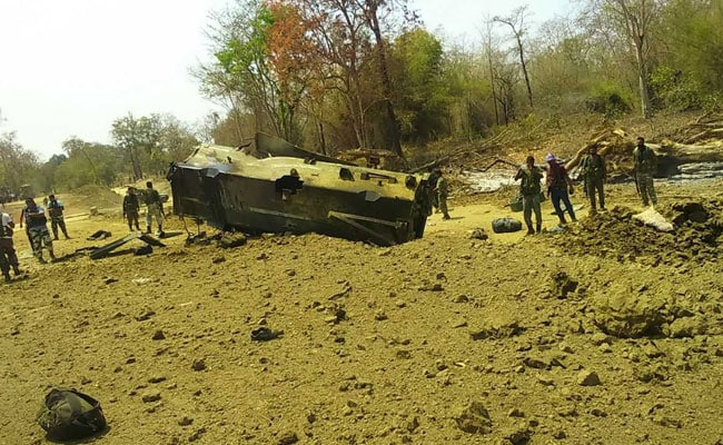 Usage Of MPVs In Sukma Maoist Blast Under Scanner