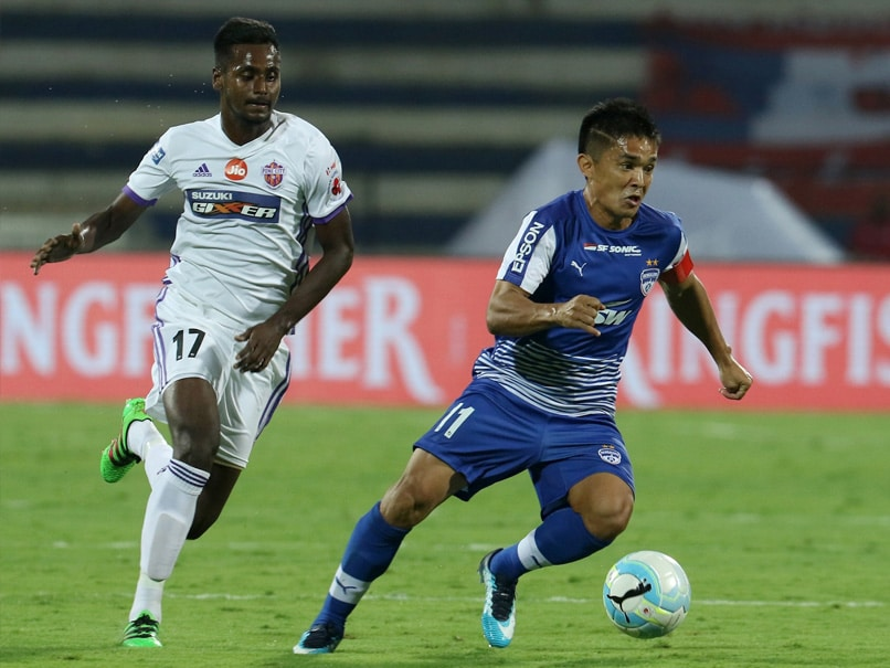 Indian Super League: Sunil Chhetri Hits Hat-Trick As Bengaluru FC Seal Final Spot