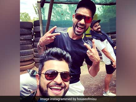 Ahead Of IPL 2018, Suresh Raina Teams Up With Virat Kohli, Shikhar Dhawan For