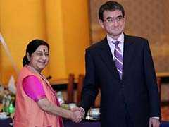 Sushma Swaraj, Japanese Foreign Minister Discuss Indo-Pacific Cooperation