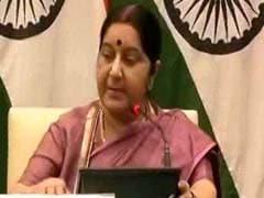 भारत सिर्फ संयुक्त राष्ट्र के प्रतिबंधों को मानता है: सुषमा स्वराज