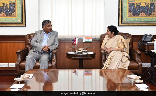 Sushma Swaraj Meets Nepal's Commerce Minister, Discusses Trade