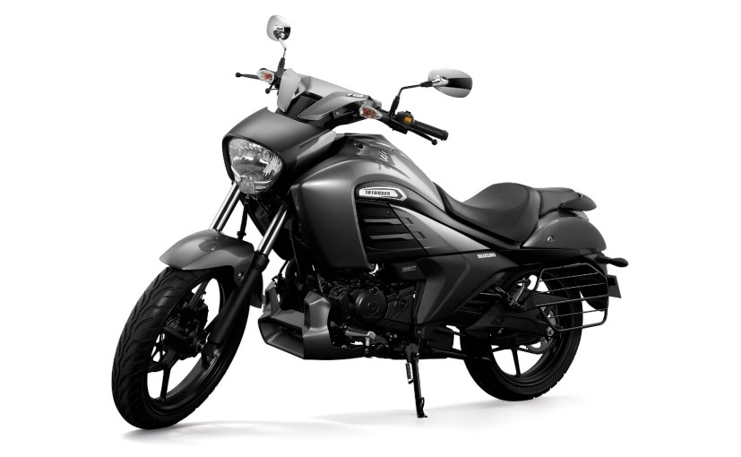 Suzuki Intruder FI sees no other mechanical or cosmetic change and continues with the same 155 cc motor