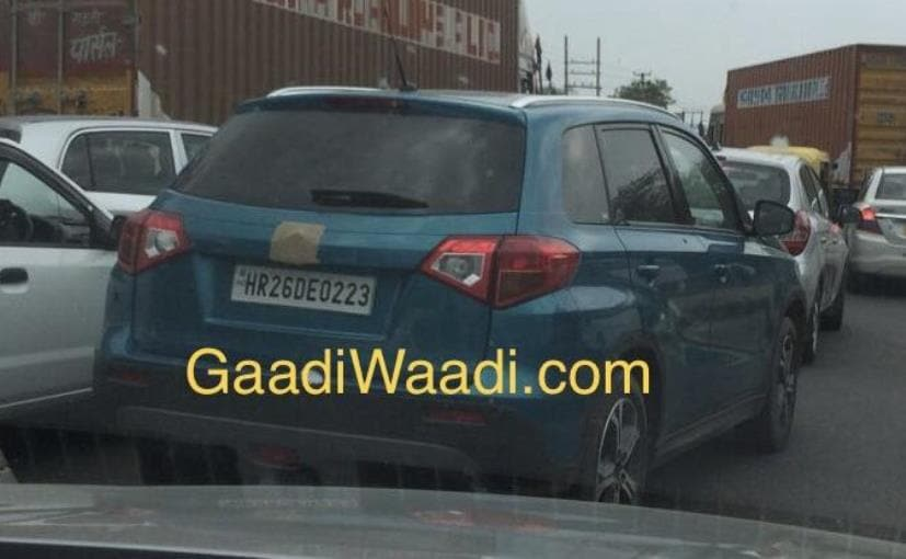 Suzuki Vitara Compact Suv Spotted In India