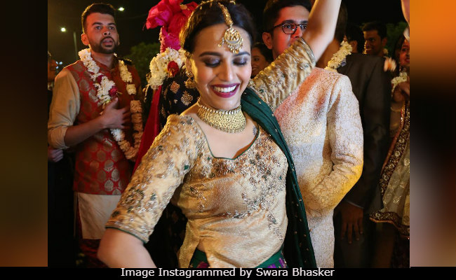 Swara Bhasker Went To A Veere Di Wedding IRL. See Pic Of Her Dancing