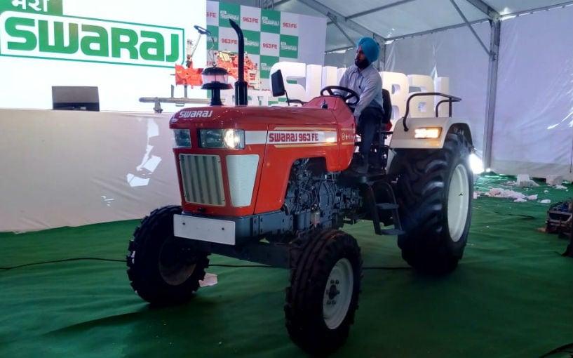 Swaraj Tractors Launches New 963FE Tractor