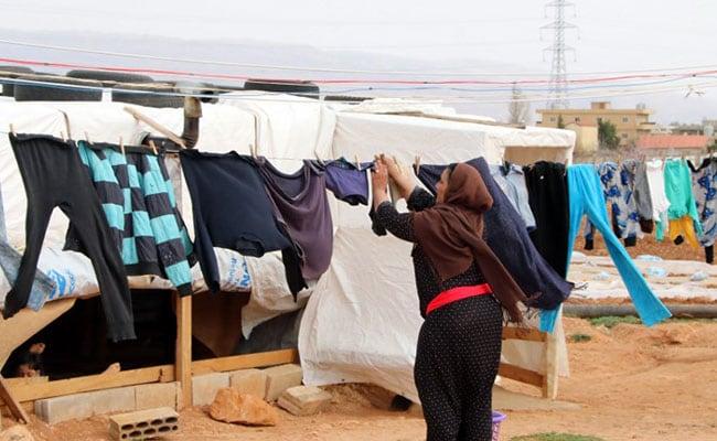 syrian women afp