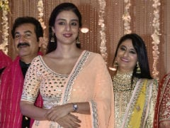 Tabu Likes To Keep It Simple. See What She Wore To A Wedding Reception