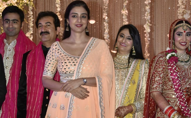 Tabu Likes To Keep It Simple See What She Wore To A Wedding Reception