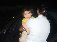 An Evening Play Date For Taimur Ali Khan And Laksshya Kapoor. See Pics