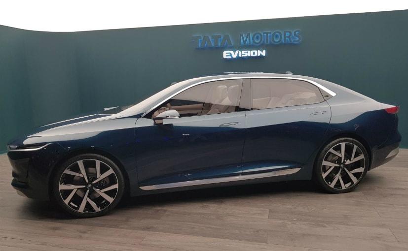 Geneva 2018 Tata Motors Evision Electric Sedan Concept Unveiled
