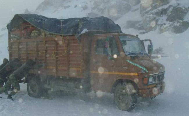 tawang snowfall