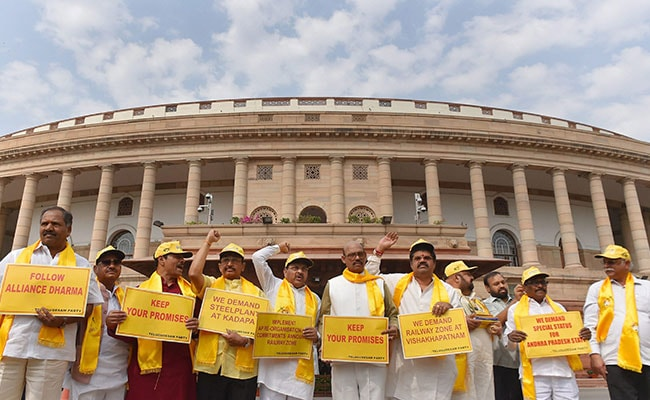 tdp mp protests