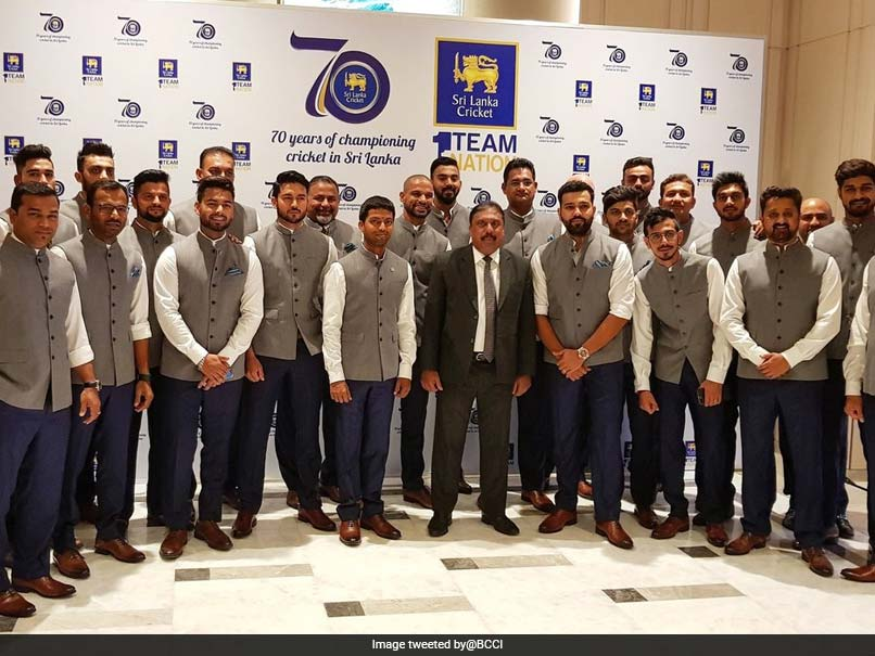 Nidahas Trophy Team India Spend Some Time Off The Field At Official Function