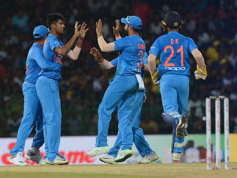 Image result for India defeated Bangladesh by 17 runs to make the tri-series final