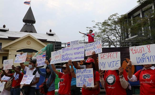 Hundreds Join Anti-Junta Rally In Thailand As Calls For Democracy Grow