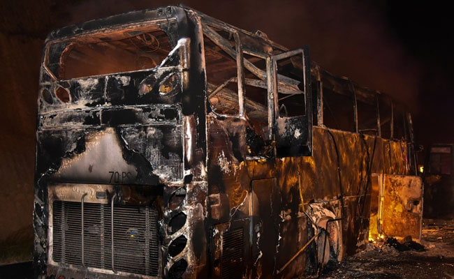 Fire Kills 20 Myanmar Migrant Workers On Bus In Thailand: Police