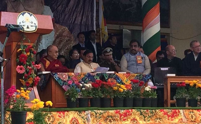 Ram Madhav tells Tibetans 'this is your land'