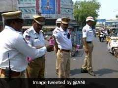 Hyderabad Traffic Cops Given Buttermilk Packets, Water Bottles To Beat The Heat