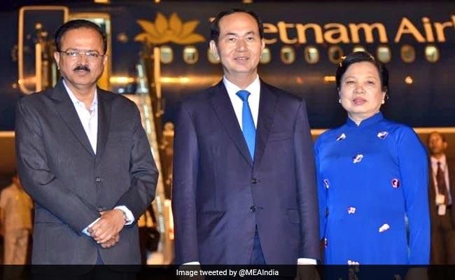 Vietnam President Arrives In Delhi On 3-Day Visit