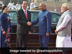 वियतनाम के राष्ट्रपति त्रान दाई क्वांग का दिल्ली में स्वागत, कई समझौतों पर हस्ताक्षर होने की उम्मीद
