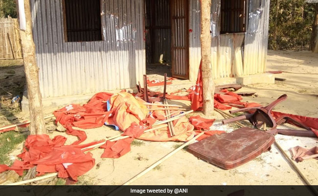 BJP office attacked, Raja regrets Facebook post
