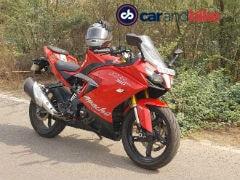TVS Apache RR 310 Price, Mileage, Review - TVS Bikes