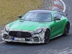 Updated Mercedes-AMG GT R Spotted Testing At The Nurburgring