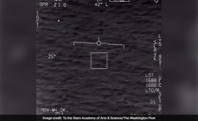 Video Shows Navy Pilot's Close Encounter With UFO