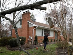 Half A Million Still Without Power After Storm In US Northeast