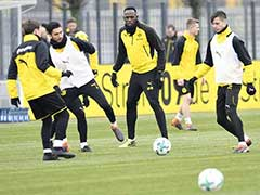 Usain Bolt Begins Trials With German Giants Borussia Dortmund. See Photos