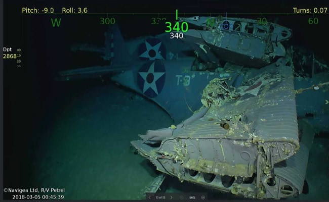 Wreckage Of World War 2 Aircraft Carrier USS Lexington Found