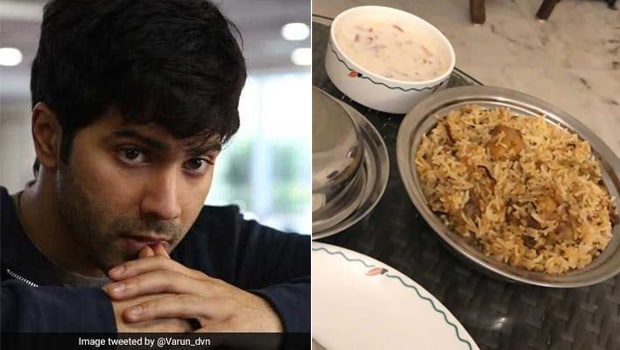 Varun Dhawan's Sunday Cheat Meal Was Made By His Body Guard!