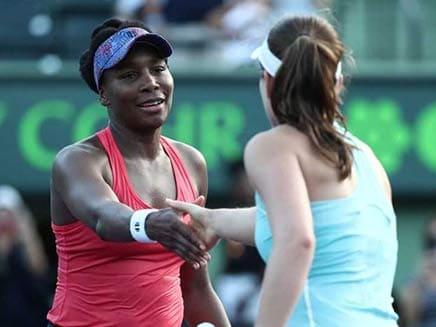 Miami Open: Venus Williams Ousts Defending Champ Johanna Konta To Reach Quarters
