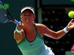 टेनिस : वर्ल्ड नंबर 6 कैरालिना प्लिसकोवा को हराकर सेमीफाइनल में पहुंचीं विक्टोरिया अजारेंका