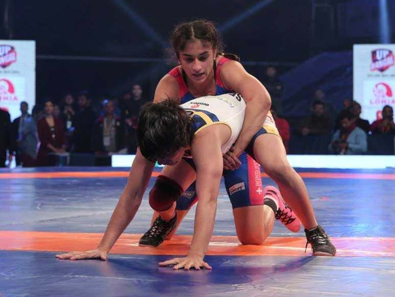 Vinesh Phogat Enters Final Of Asian Wrestling Championship
