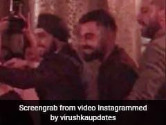 Virat Kohli Dances To <i>Kajra Re</i> At His <i>Veere Di</i> Wedding. Watch Video