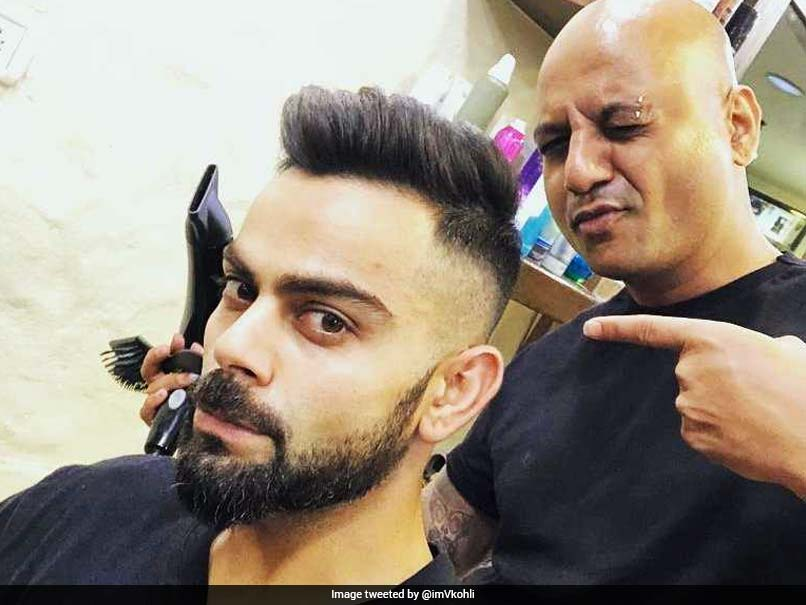 Indian Premier League 2018 Virat Kohli Flaunts His New Hairstyle