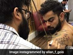 Virat Kohli Spotted At A Tattoo Parlour In Mumbai. See Pics