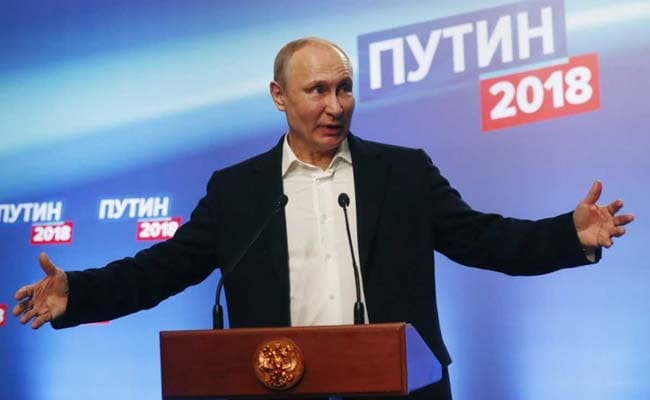 Vladimir Putin Savours Record Win, Securing 6 More Years At Russia's Helm