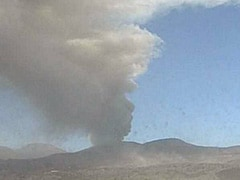 Volcano Spews Ash Thousands Of Feet Into Sky, Grounding Flights Nearby