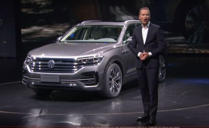 New-Gen Volkswagen Touareg SUV Makes Its Global Premiere