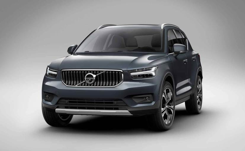 new york auto show 2018 volvo xc40 inscription variants showcased ndtv carandbike. Black Bedroom Furniture Sets. Home Design Ideas