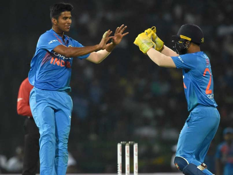 Washington Sundar Says Off Spinners Are As Effective As Wrist-Spinners