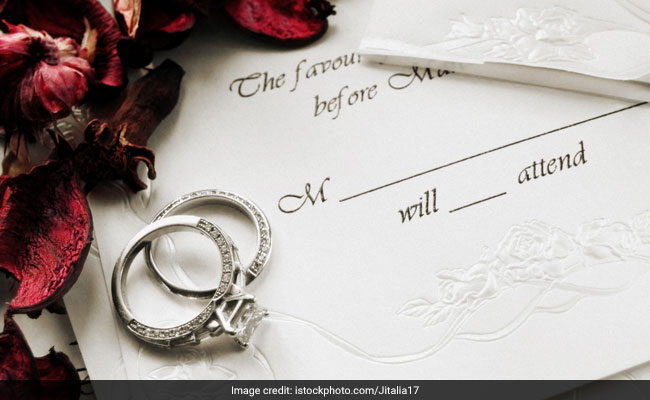 Wait, What? Wedding Invite Asks Guests To Choose Meal As Per Their Gift's Value