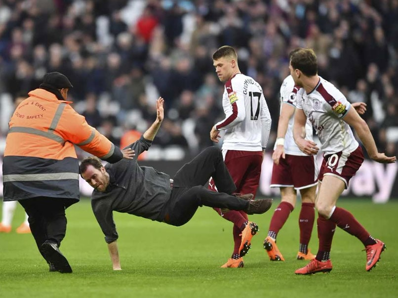 Watch: West Ham United Fans Invade Pitch After Burnley Loss, Probe Ordered