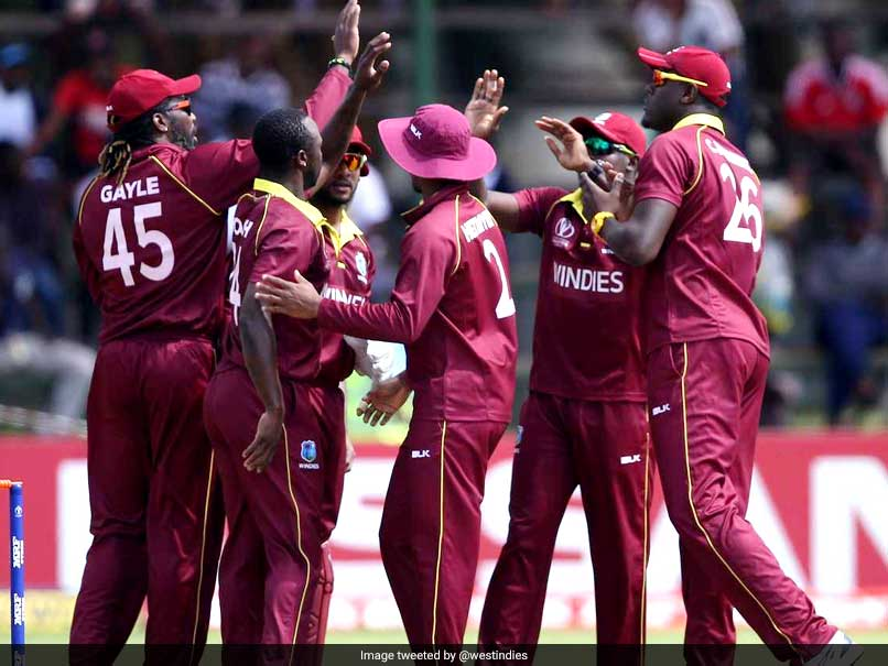 Thunderstorm helps West Indies qualify for World Cup